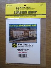 Blair Line N Scale Wood Loading Ramp Kit #074 Bonus 3 pack  Bob The Train Guy