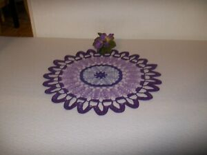 PURPLE  DOILY FOR SPRING