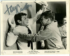 """TONY CURTIS - """"The Great Impostor"""" Movie Still/Photo - SIGNED In Person"""