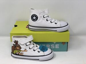 Scooby Doo X Chuck Taylor All Star 1V HI White/Multi Infant Baby Shoes 769078F
