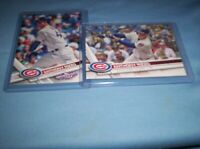 ANTHONY RIZZO 2017//17 TOPPS OPENING DAY CHICAGO CUBS #96 # 500 NEW