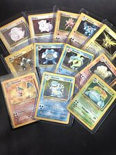 LOTTO POKEMON HOLO BASE - CHARIZARD/BLASTOISE/GYARADOS