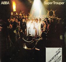 "ABBA SUPER TROUPER 12"" LP Printed Lyric Inner EPIC UK 1980 EPC 10022 A5/B7 @EXCL"