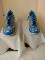 "HOKA ONE ONE Bondi 3 Men""s Running Sneakers.  Brilliant Blue High Rise.  Size 11"