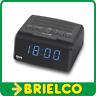 RADIO FM RELOJ DESPERTADOR DIGITAL PLL 220VAC SALIDA AURICULARES TM BD3450