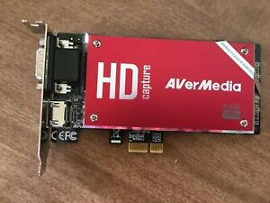 AVerMedia C729-B DarkCrystal HD Capture SDK II Fantastic 1080p HDMI Capture Card