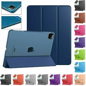 """For Apple iPad Air 4 10.9"""" 2020, Pro 11-inch 2021 Slim Leather Stand CASE Cover"""