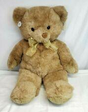 "Vtg Russ Berrie Caress TEDDY SO SOFT Jumbo 28"" Plush Bear #467 MINT with TAGS"
