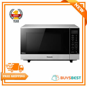 Panasonic Flatbed Microwave Oven Stainless Steel 1000 W 27 Litres - NN-SF464MBPQ