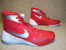 Mens Nike Hyperdunk 2015 Basketball Shoes Red White 812944-601 size 18