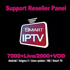 SMART IP TV 12 MOIS ABONNEMENT ,ANDROID,SMART TV,M3U,VLC,vod,séries,chaines x🔥