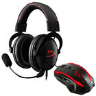 Kingston HyperX Cloud Core Pro Gaming Headset + MSI Super Wired Gaming Mouse
