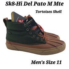 Vans Sk8-Hi Del Pato M MTE Olive Rain Boots Hiking Trail Duck Shoes Men Sz11 NEW