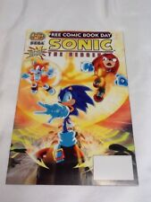 Sonic The Hedgehog #1 Free Comic Book Day HTF MN/M 2007 Unstamped (000977)