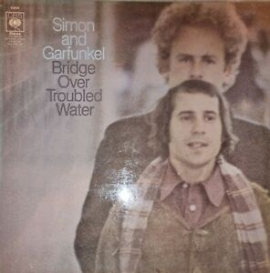"Simon and Garfunkle ""Bridge Over Troubled Water"" 1970 - Vinyl LP Album - EX/VC"