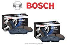 [FRONT + REAR SET] Bosch QuietCast Ceramic Premium Disc Brake Pads BH98572