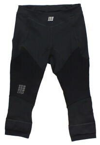 CEP Women's Dynamic+ 3/4 Run Tights, Size III (Thigh 20-24-Inch) M, Color: Black
