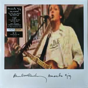 Paul McCartney AMOEBA GIG 180g Live Album NEW SEALED LIMITED COLORED VINYL 2 LP