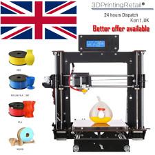 More details for 2021 new 3d printer prusa i3 reprap mk8 diy kit mk2a heatbed lcd controller uk