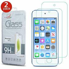 2 PACK Fits iPod Touch 7 7th Gen Tempered Glass Screen Protector Cover Slim