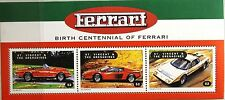 ST VINCENT 1998 KLB 4467-69 FERRARI Automobiles Sports Cars Auto Sportiva Auto MNH