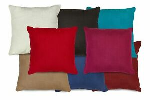 """100% Cotton Checkerboard Woven Filled Cushions or Cushion Covers 18"""" / 45cm"""