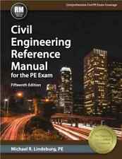 Civil Engineering Reference Manual for PE Exam 15th ed - Michael R. Lindeburg