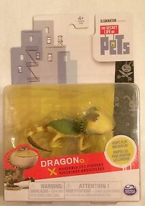 NIB The Secret Life of Pets Posable Figure - Dragon Toy