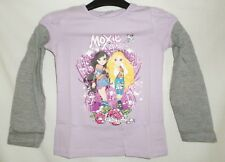 Moxie Girlz Lilac Long Sleeve Mock Layer T-Shirt Top Age 4-6 Years
