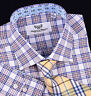 White Blue Red Formal Business Dress Shirt Soft Luxury Flannel Sexy Fashion B2B