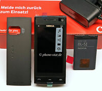 NOKIA X6-00 16GB SMARTPHONE HANDY TOUCHSCREEN KAMERA MP3 UMTS BLUETOOTH WIE NEU