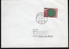 Switzerland: Plain Cover with Covenant of Stans stamp with Lucern postmark