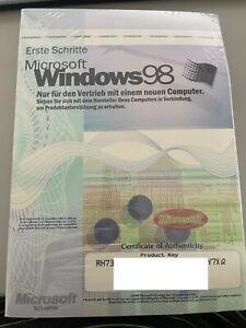 Microsoft Windows 98 - OEM Betriebssystem deutsch OVP eingeschweißt- NEU