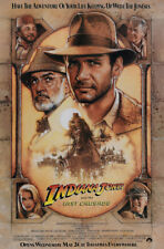 Indiana Jones And The Last Crusade Movie Poster Ss Original 27x40 Harrison Ford