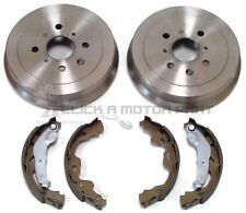 PEUGEOT 107 1.0 2005-2015 REAR 2 BRAKE DRUMS AND SHOES SET
