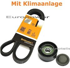V-Ribbed Belts + Tension Pulley Renault Megane Scenic 1.5 Dci New