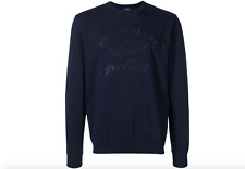 "PAUL & SHARK yachting embroidered ""Logo""  Sweater jumper sweatshirt LARGE"