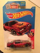 NEW! 2016 Hot Wheels HW FLAMES 3/10 '77 Pontiac Firebird 93/250 (Red)