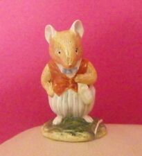 RARE ROYAL DOULTON BRAMBLY HEDGE FIGURE - BASIL DBH 14 - PERFECT !!