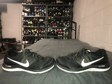 Nike Dual Fusion X Mens Athletic Running Training Shoes Size 9.5 Black White