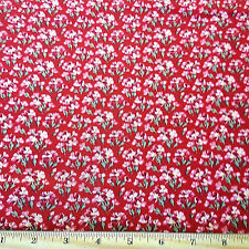 Penelope Cotton Fabric Garden Small  Rose  Lake House Dry Goods  BFab
