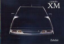 CITROEN XM 1991 Accesorios oficial de texto alemán folleto de ventas