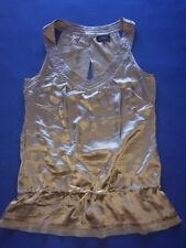 Xdye Pull&Bear 100% Seide Top Bluse S 36 38 Oberweite 46 Länge 67 NEU