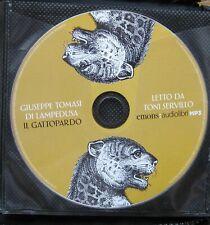 Audiolibro audiobook cd MP3  IL GATTOPARDO Giuseppe Tommasi di Lampedusa   usato