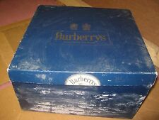 Vintage ?? Burberry's London New York Paris Brusels Blue Hat Empty Box