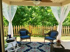 Mosquito Netting Curtain Panel (1) Outdoor Curtain for Patio, Porch, Deck, Party