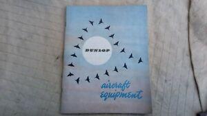 DUNLOP Aircraft Equipment Catalogue - dated 1953