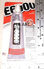 2 OUNCE AMAZING E-6000 INDUSTRIAL STRENGTH BAIL & FUSERS GLUE WITH METAL TIP