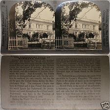 Keystone Stereoview of Paderewski Villa in Warsaw, Poland From 600/1200 Card Set