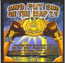 CD WHO PUT THE SAC ON THE MAP V 2 OG 1ST PRESS RAP~RARE